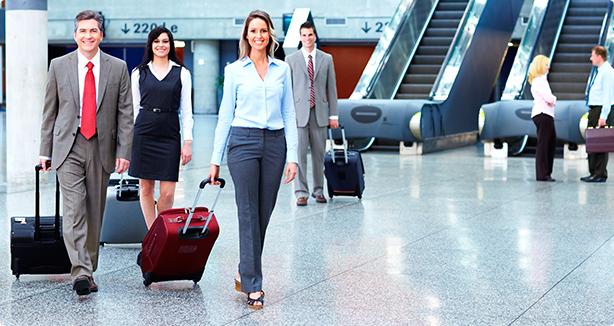 Serviços em aeroportos